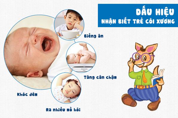 Trẻ còi xương
