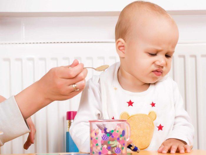 Thực đơn chưa cân đối khiến trẻ dễ biếng ăn