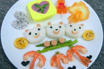 Trang trí món ăn cho bé 2 tuổi nhiều màu sắc để hấp dẫn trẻ