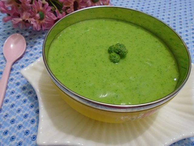Cách nấu cháo ếch rau cải thìa cho bé
