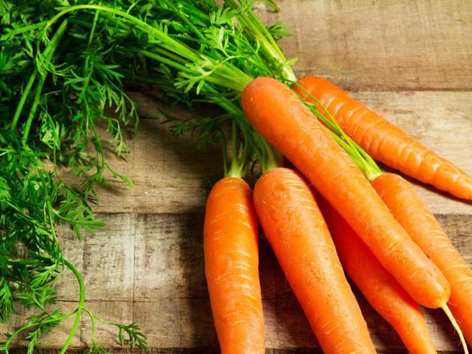 Cháo trứng gà cà rốt