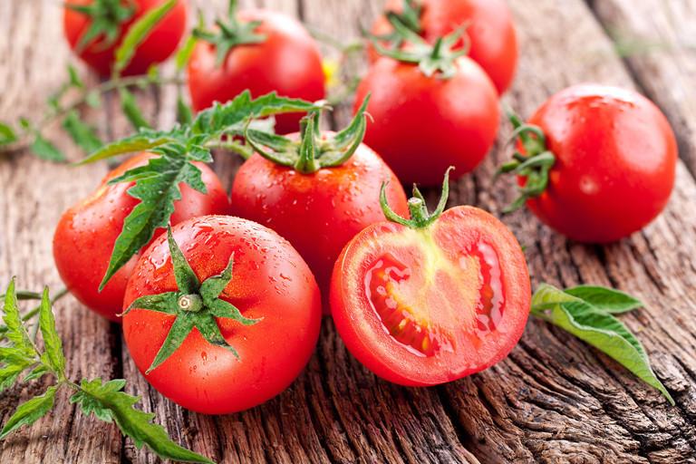 Cháo trứng gà cà chua