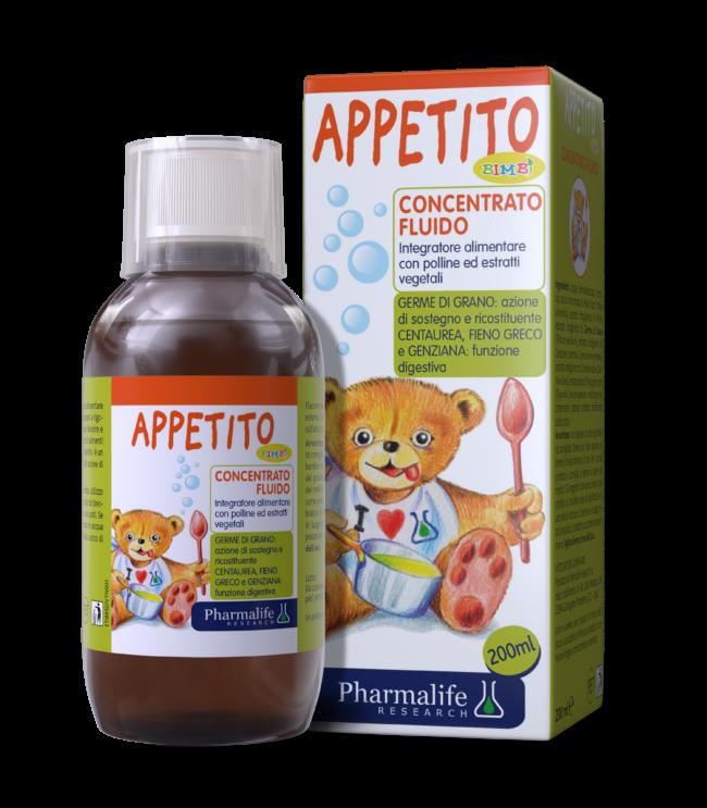 Appetito Bimbi - Siro ăn ngon 3 tác động từ thảo dược chuẩn hóa châu Âu.