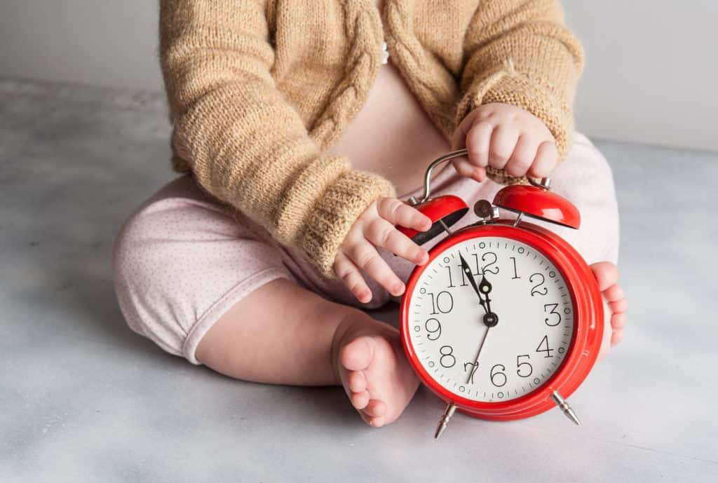 Thời gian cho bé ăn đảm bảo khoa học