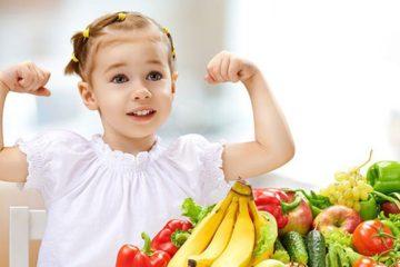 Trẻ ăn ngon, khỏe mạnh, đề kháng tốt giúp chống lại dịch bệnh Corona