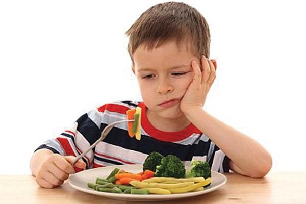 Các giai đoạn trẻ hay gặp tình trạng biếng ăn