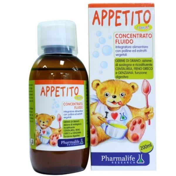 Appetito Bimbi là siro ăn ngon từ thảo dược chuẩn hóa đầu tiên trên thế giới
