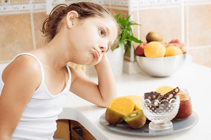 Trẻ biếng ăn do yếu tố tâm lý